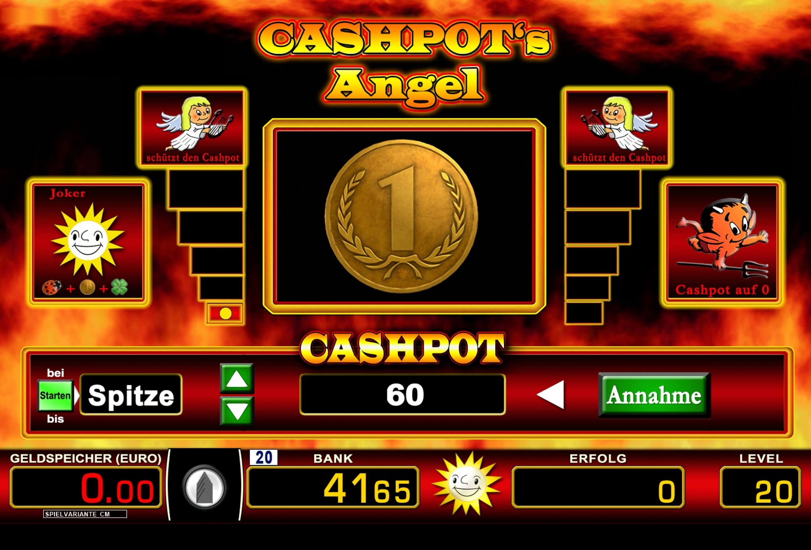 Cashpots Angel