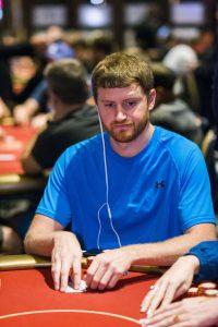 David Peters bei der Wolrd Poker Tour Las Vegas Season 16