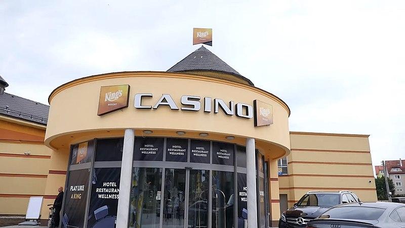 King's Casino Resort Rozvadov Eingang