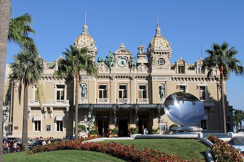 Casino de Monte Carlo Monaco Gebäude Frontansicht