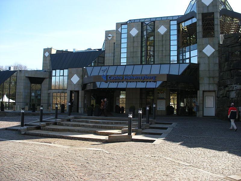 Casino Hohensyburg Dortmund Deutschland Gebäude Frontansicht