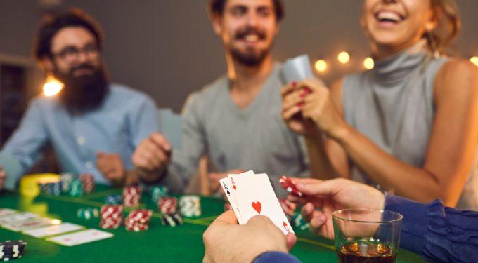 Casino Party mit Freunden