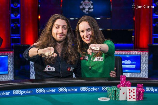 Liv Boeree und Igor Kurganov am Pokertisch