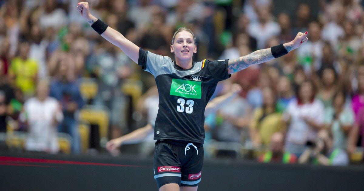 Luisa Schulze siegreich beim Handball