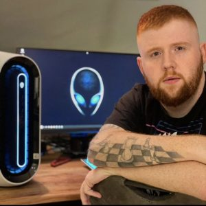 Mcky_TV Streamer Frontansicht Alienware PC