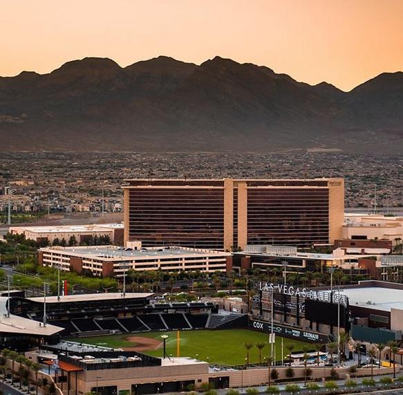 Red Rock Casino Las Vegas Luftaufnahme Panorama Red Rock Canyon