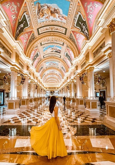 Venetian Macao Casino Hotel Lobby