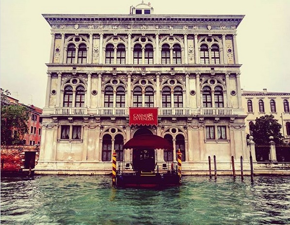 Casino di Venezia Frontansicht Eingang Kanal Venedig