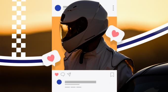 Formel 1 Instagram Beliebtheit