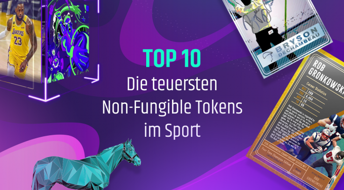Teuerste non fungible tokens im Sport