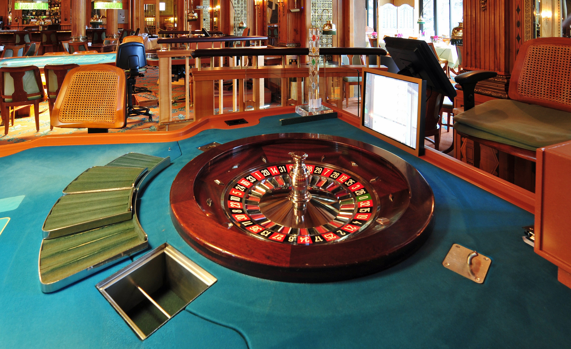 Europäischer Roulette Kessel Casino Wiesbaden