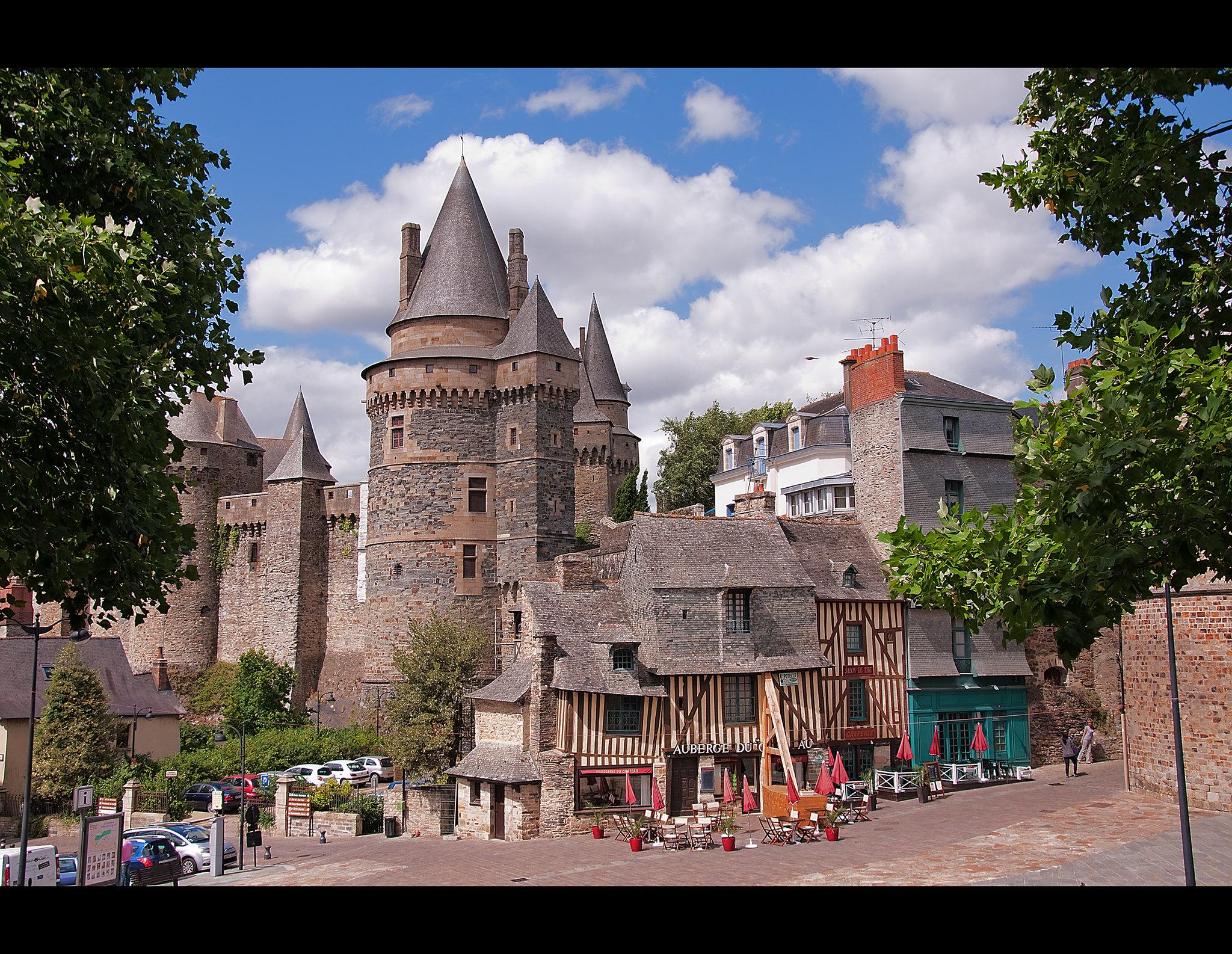 Die Burgenstadt Vitré ist erneut Etappenstadt der Tour de France