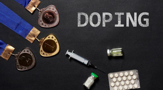 Doping Spritzen Tabletten Medaillen