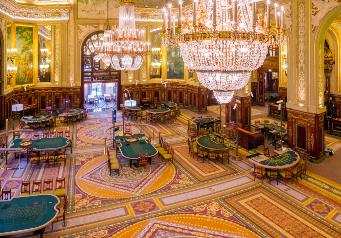 Casino de Monte-Carlo: der europäische Spielsaal