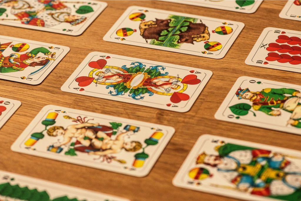 Schafkop Spielkarten