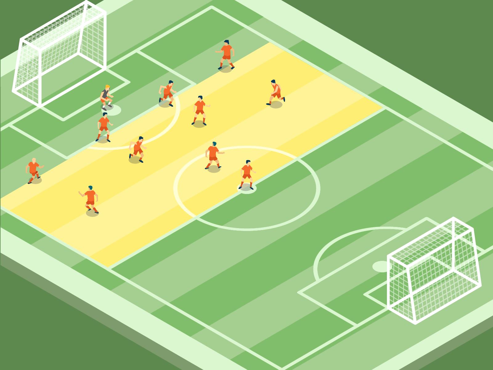 Pressing im Fußball: Offensive