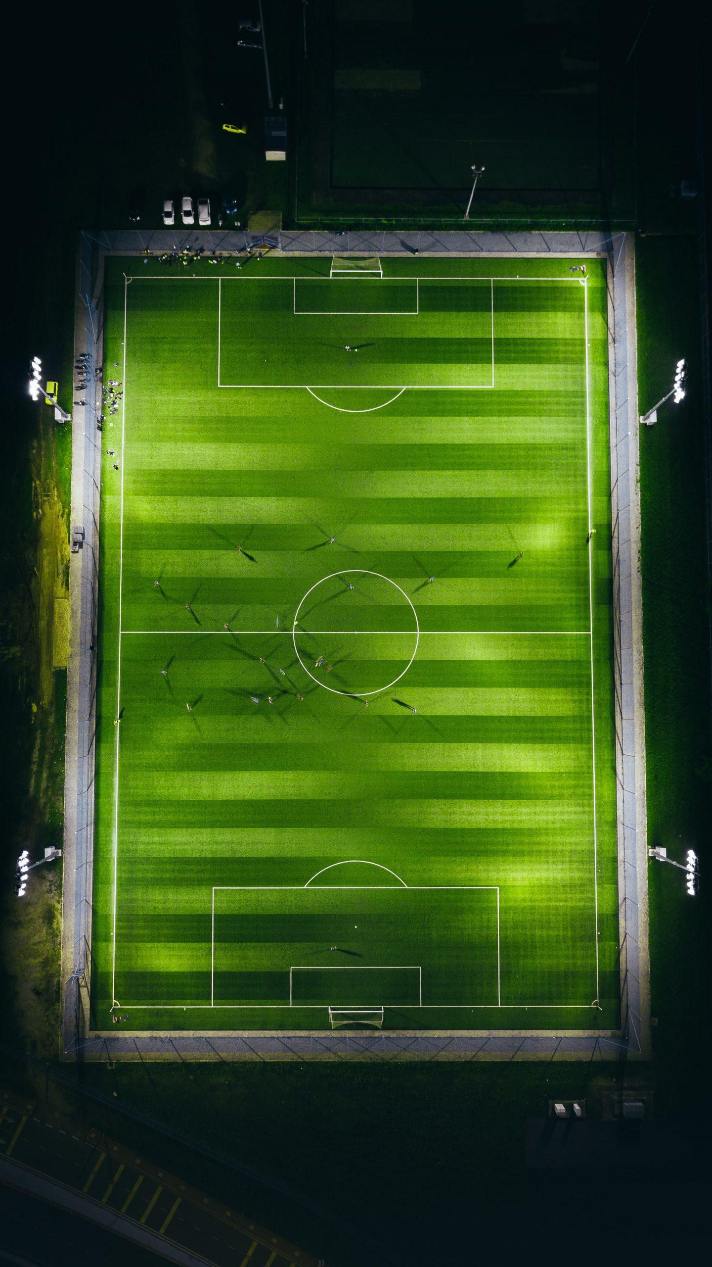 Pressing im Fußball: Auslöser des Druckspiels kann ein Eindringen des Gegners in die eigene Pressing-Zone sein