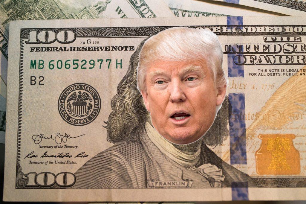 100 Dollar Donald Trump