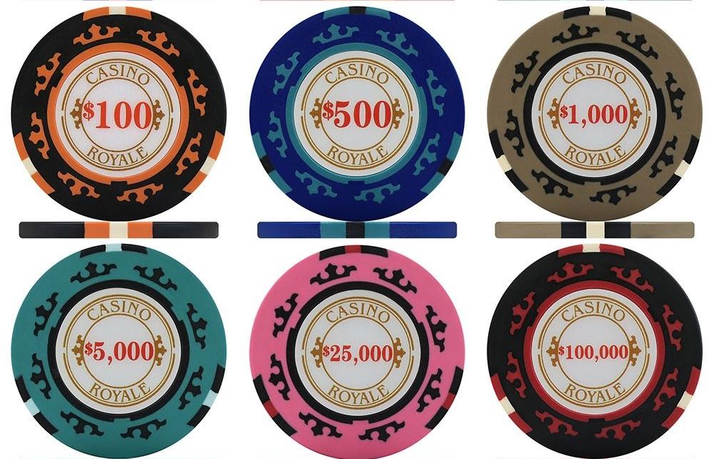 Casino Royale Poker Chips