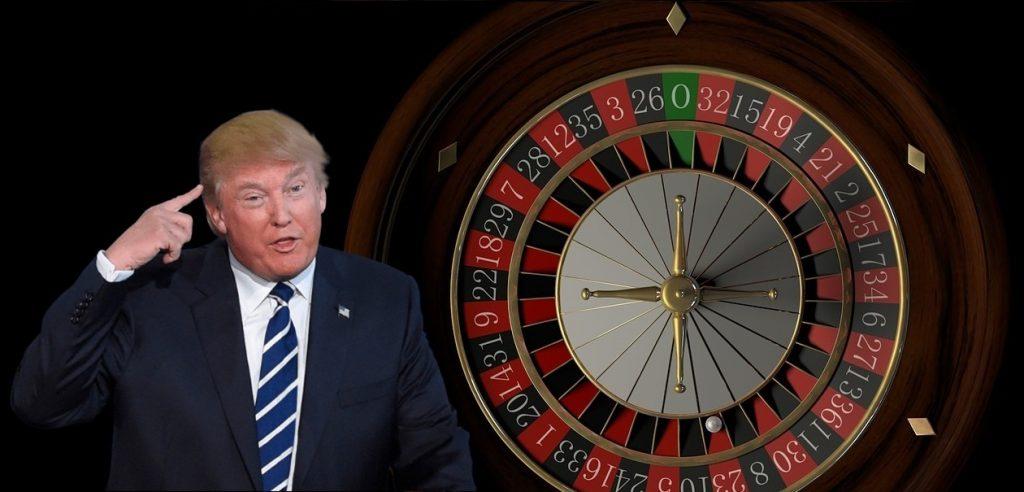 Donald Trumo Roulettekessel Roulette