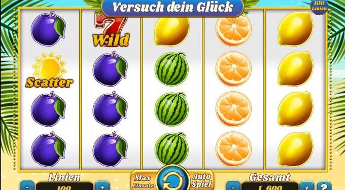 Früchte-Spielautomat Slot