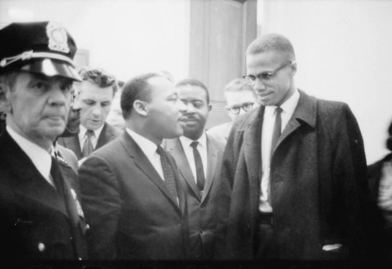 Malcolm X Martin Luther King