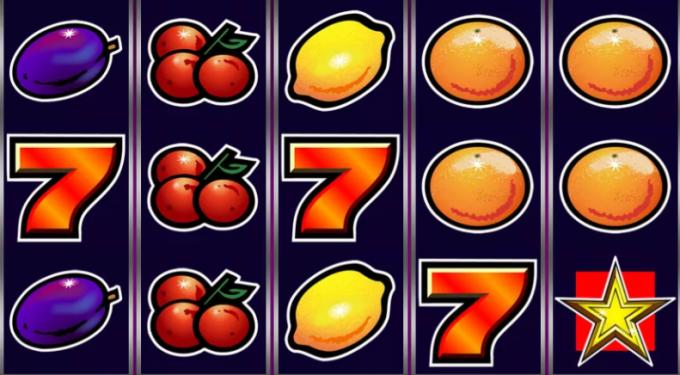 Früchte, rote Siebenen