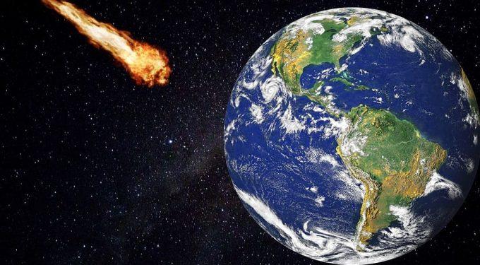 Erde Asteroid Meteorid