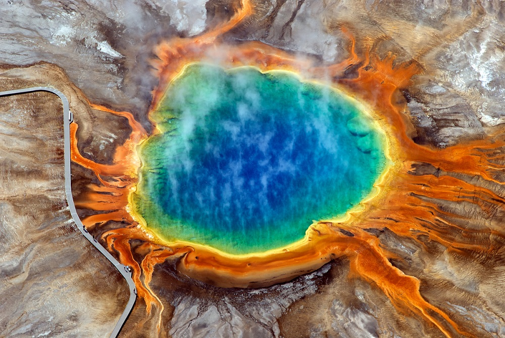 Yelllowstone Caldera Vulkan Yellowstone National Park