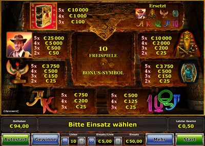 online casino review book of ra spiel