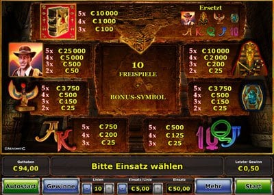 start online casino book of ra für handy
