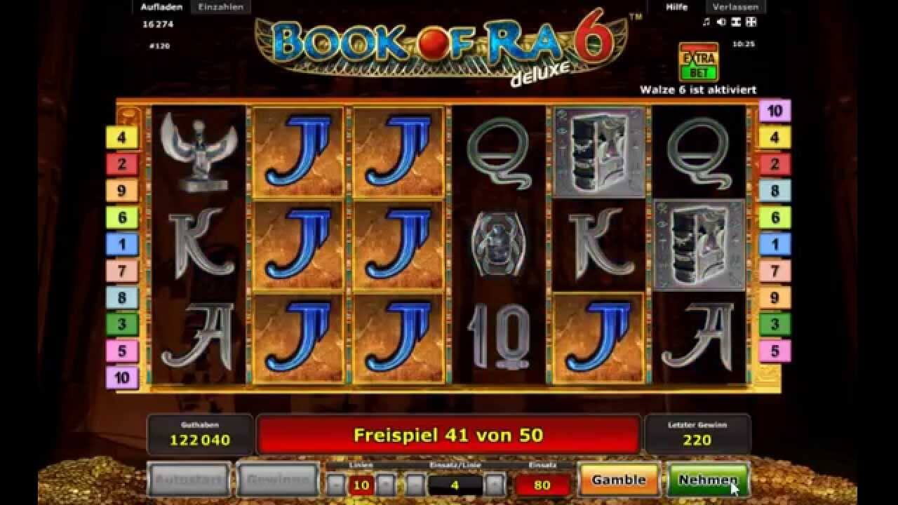book of ra 6 games