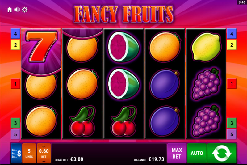 Fancy Fruits online spielen: - Kostenlos & mit Echtgeld!