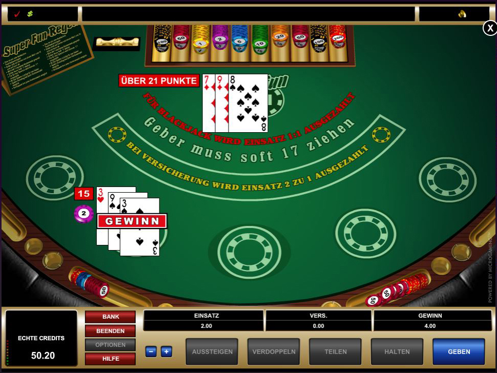 blackjack online casino echtgeld casino