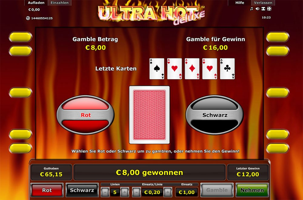 online echtgeld casino ultra hot deluxe
