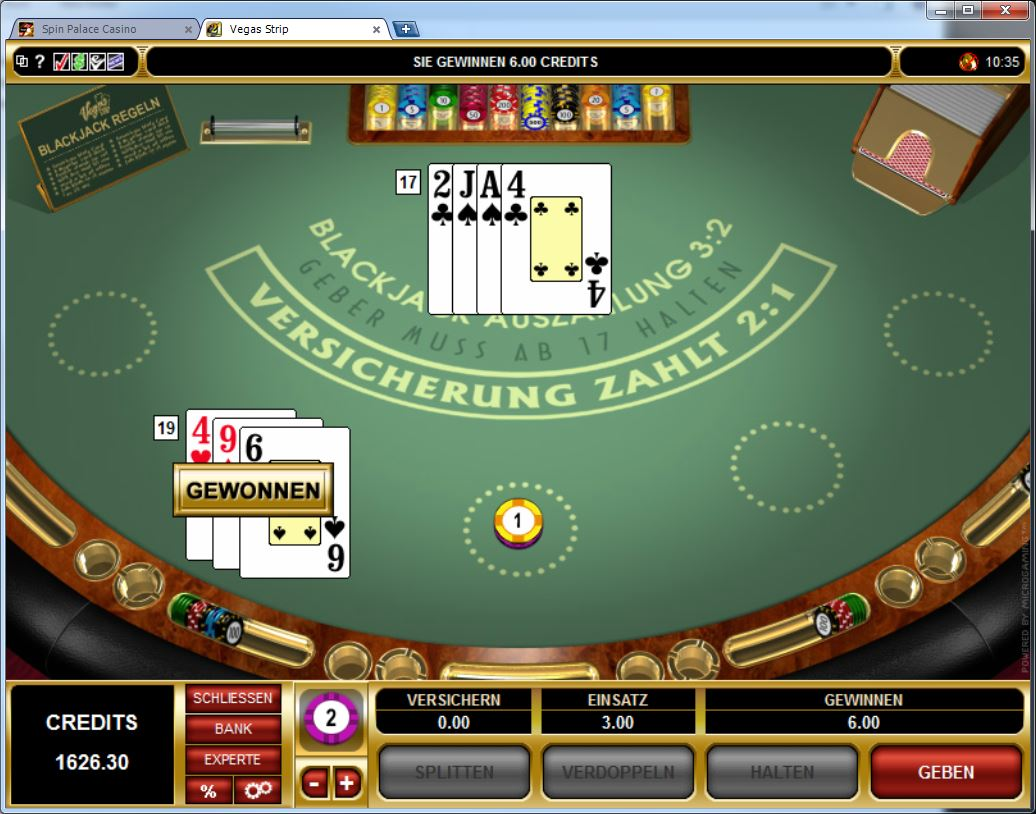 vegas strip online casino