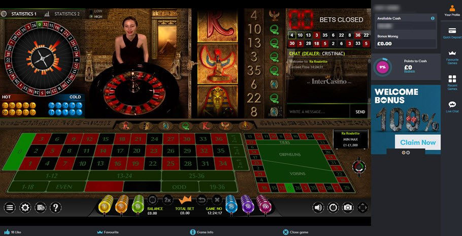 online casino table games book of rah online