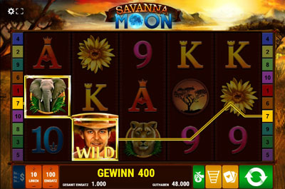 Savanna Moon Gewinnsymbole