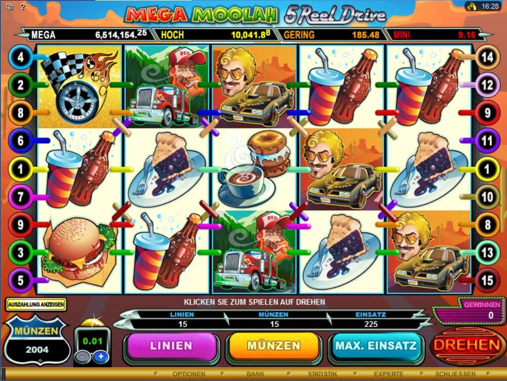 luxury casino mega moolah