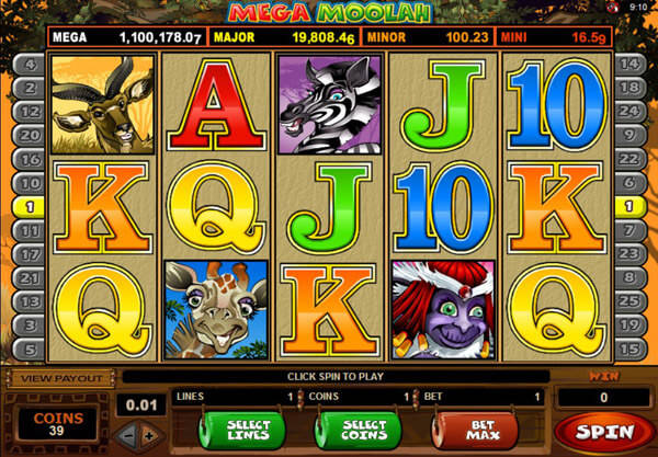 Mega Moolah Isis Slot - MicroGaming Casinos - Rizk Casino Deutschland
