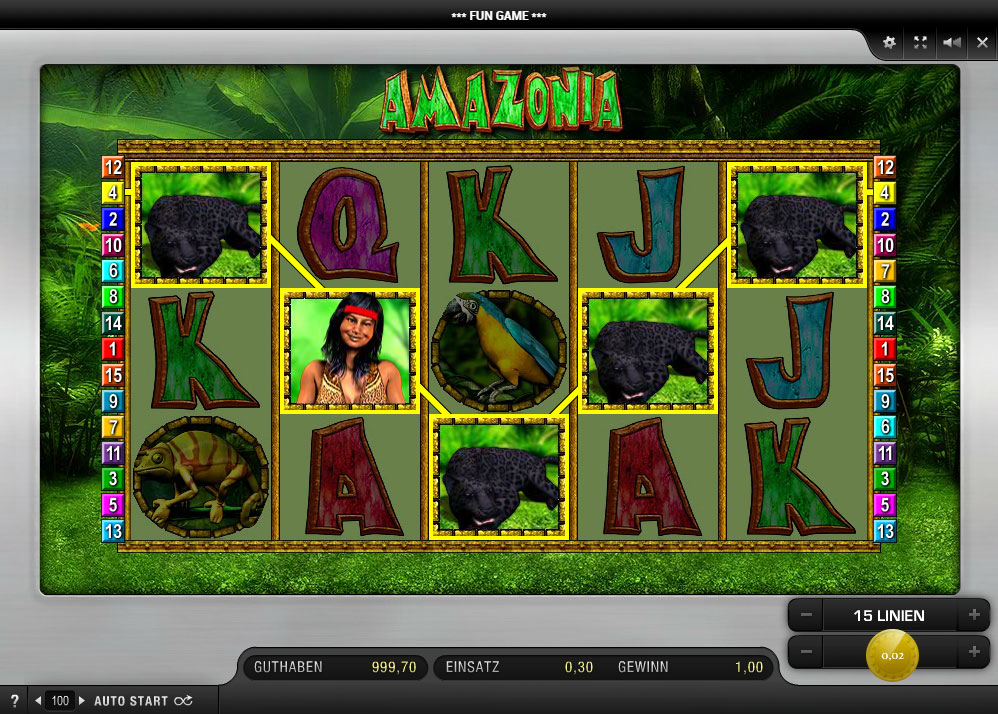amazonia casino