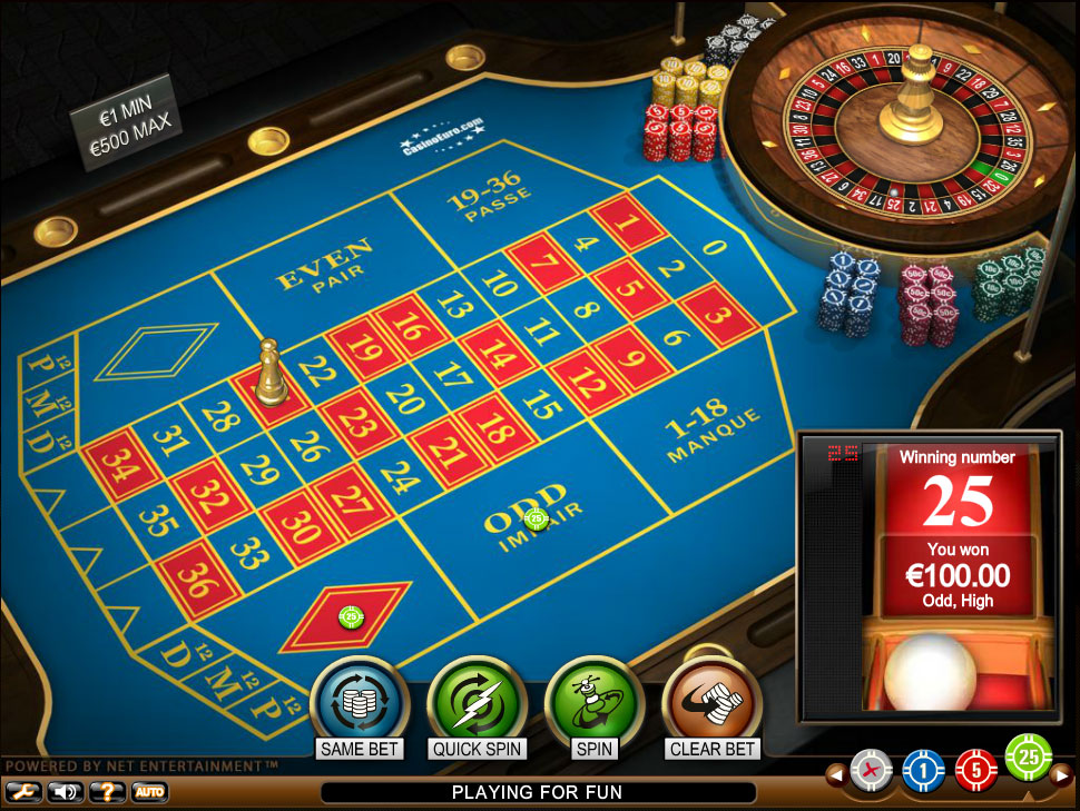 FRENCH ONLINE CASINO