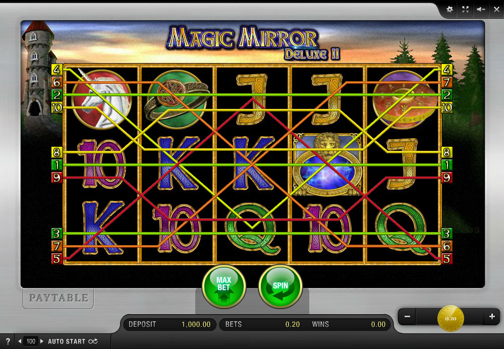 Magic mirror 2 online casino