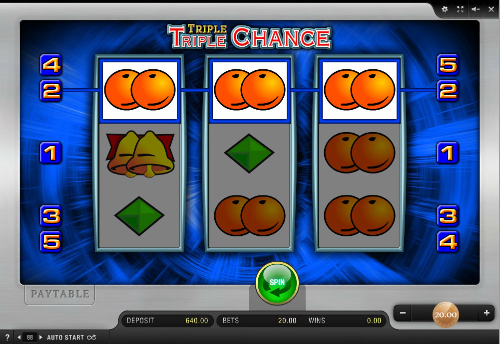 online casino triple chance