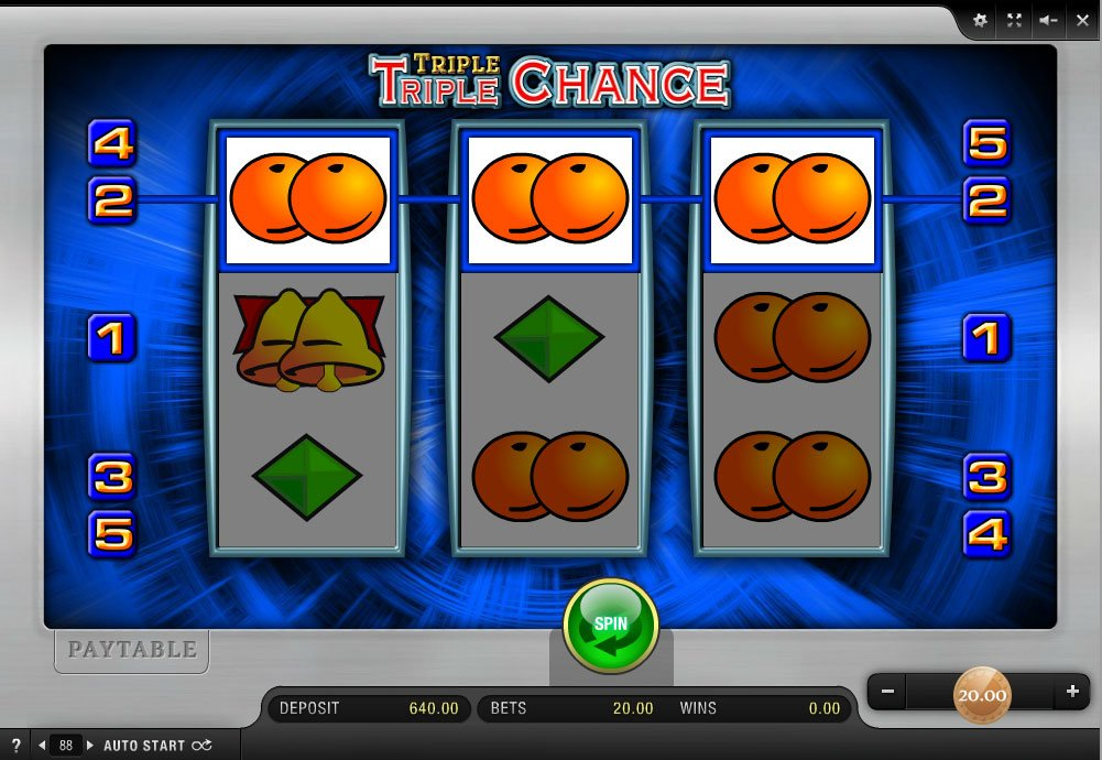 online triple chance