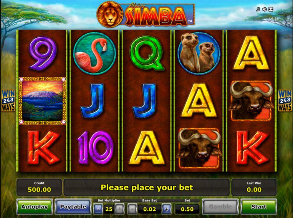 Simba Online Casino