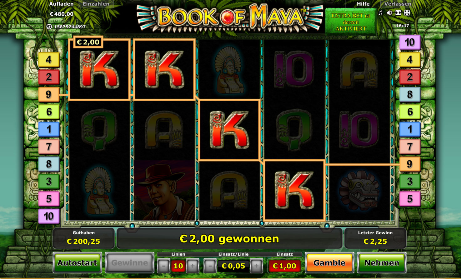 book of ra casino online maya symbole