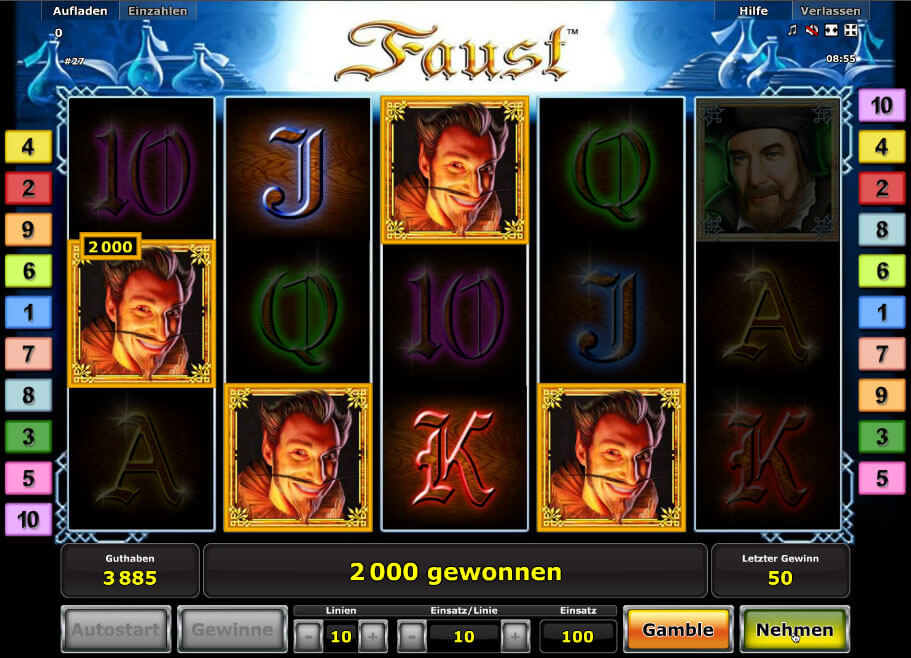online casino sites faust spielen