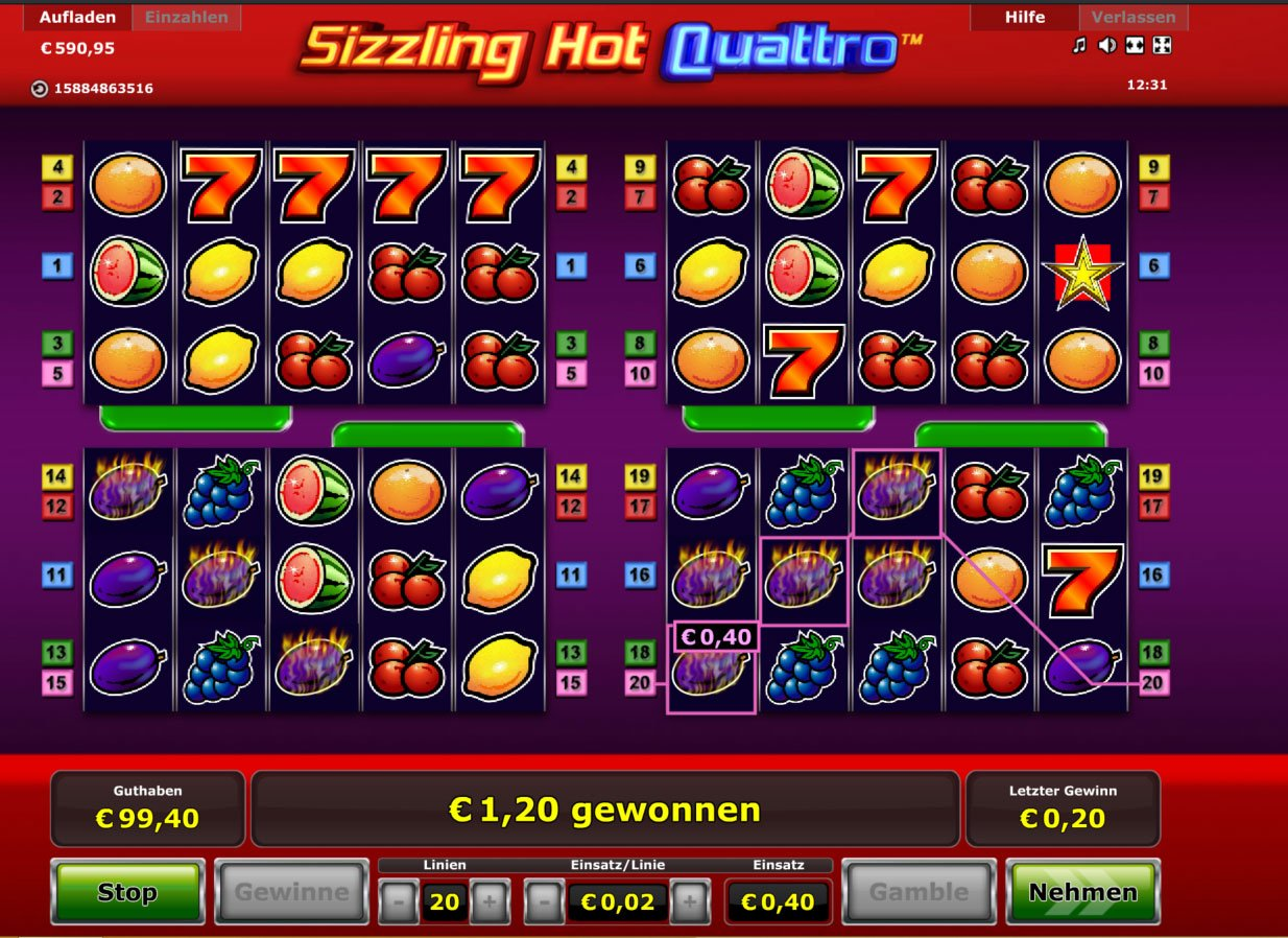 online casino top sizzling hot gratis spielen