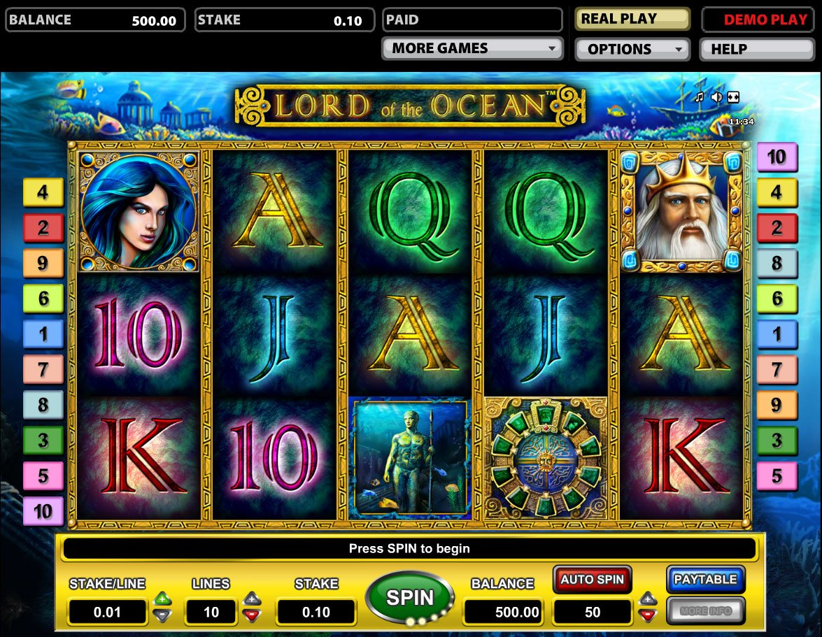 grand casino online lord of the ocean kostenlos